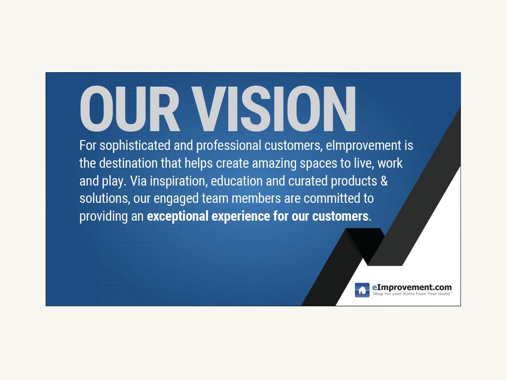 eImprovement Vision Campaign
