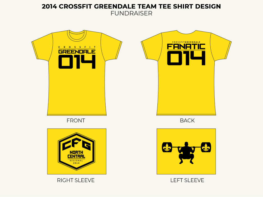 2014 CFG Team Tee Shirt