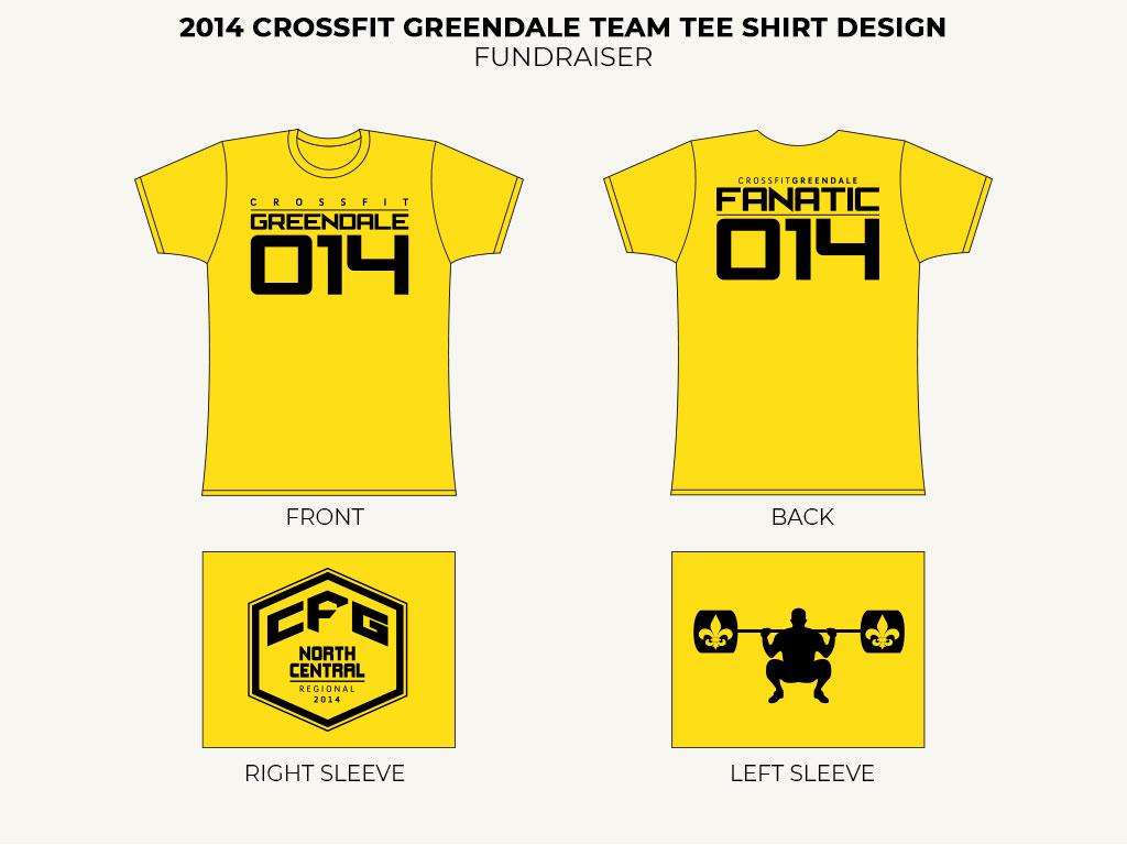 2014 CFG Team Tee Shirt