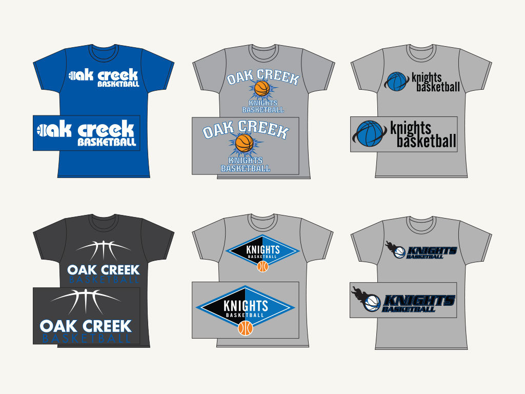 Oak Creek High School Tee Shirts