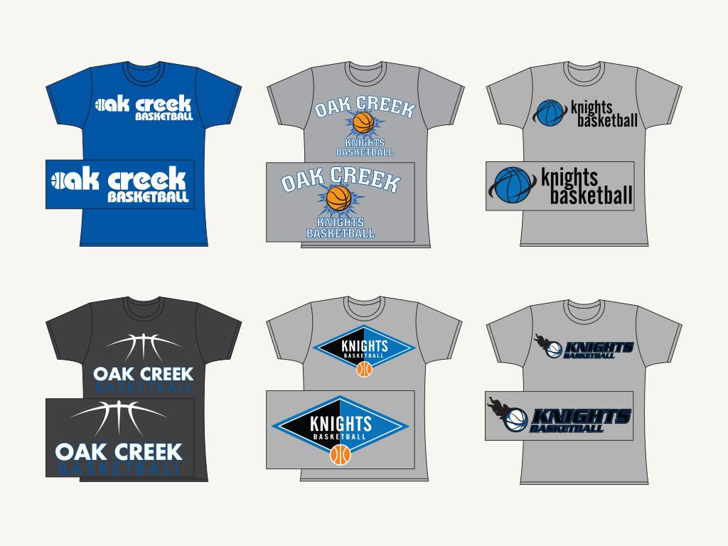 Oak Creek High School Tee Shirts
